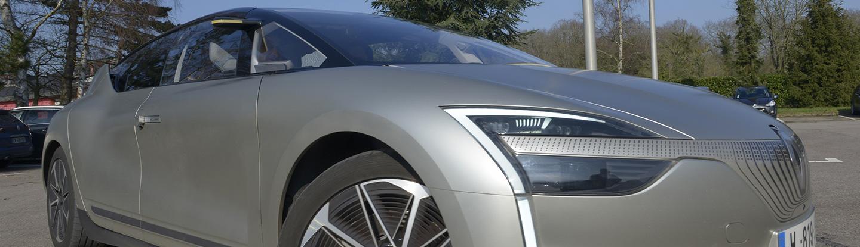 Véhicule autonome Renault Symbioz